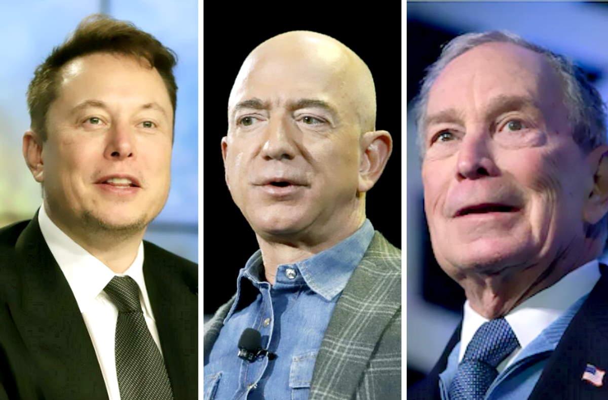 Ecco perché Jeff Bezos, Warren Buffet, Elon Musk ed altri super ricchi non pagano le tasse
