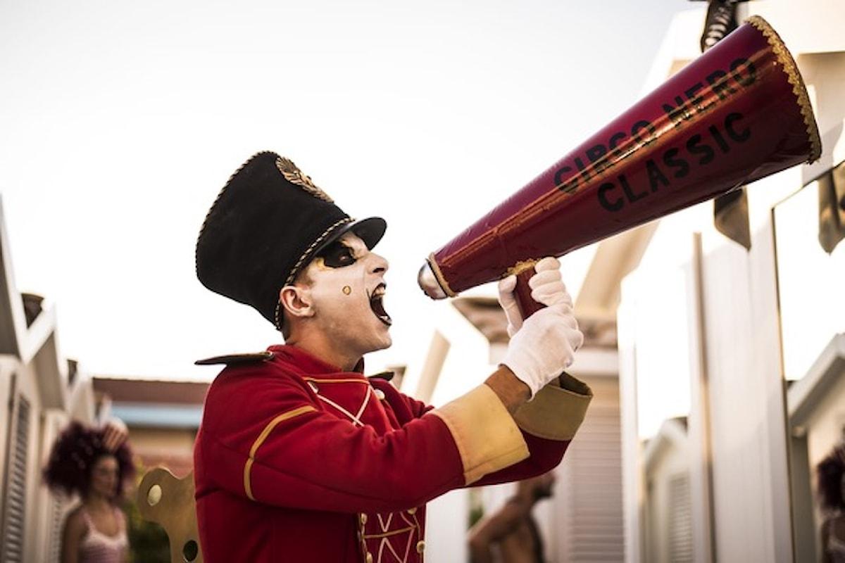 26/6 Circo Nero Italia @ Rocce Rosse c/o Lloyd's Baia Hotel - Vietri sul Mare (Salerno)
