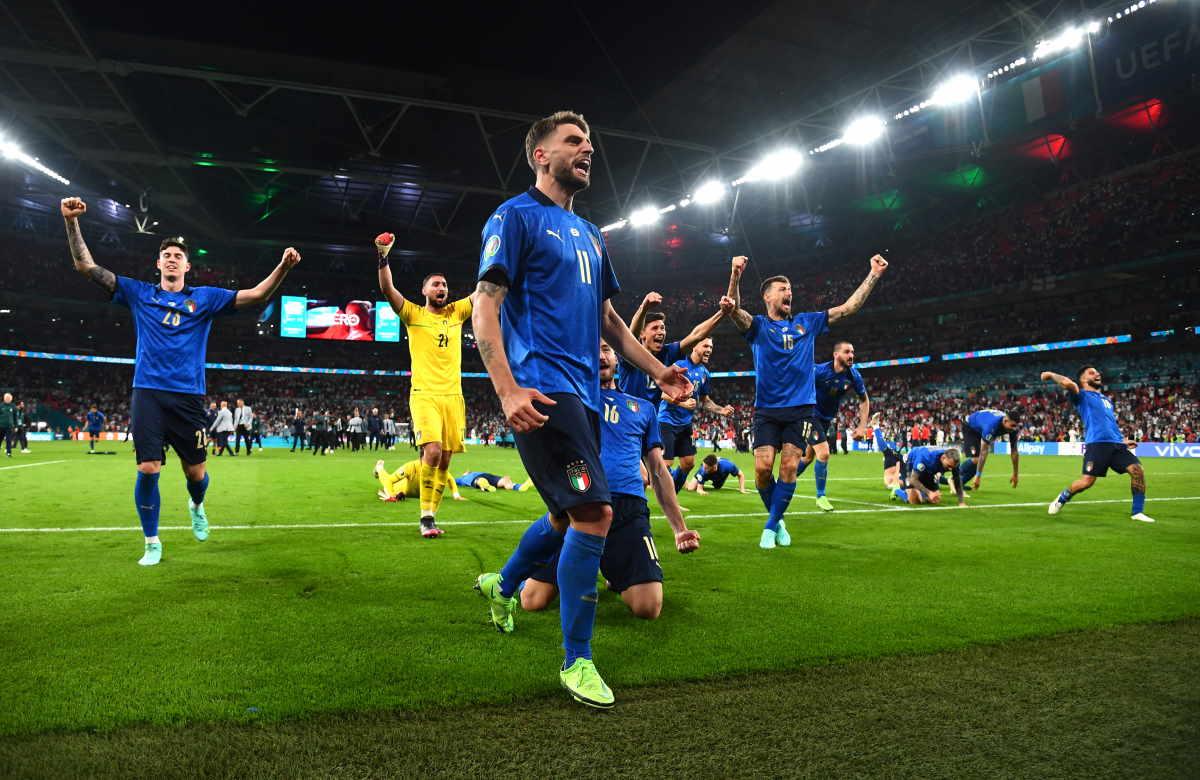 Euro 2020, dichiarazioni e festeggiamenti dopo la vittoria