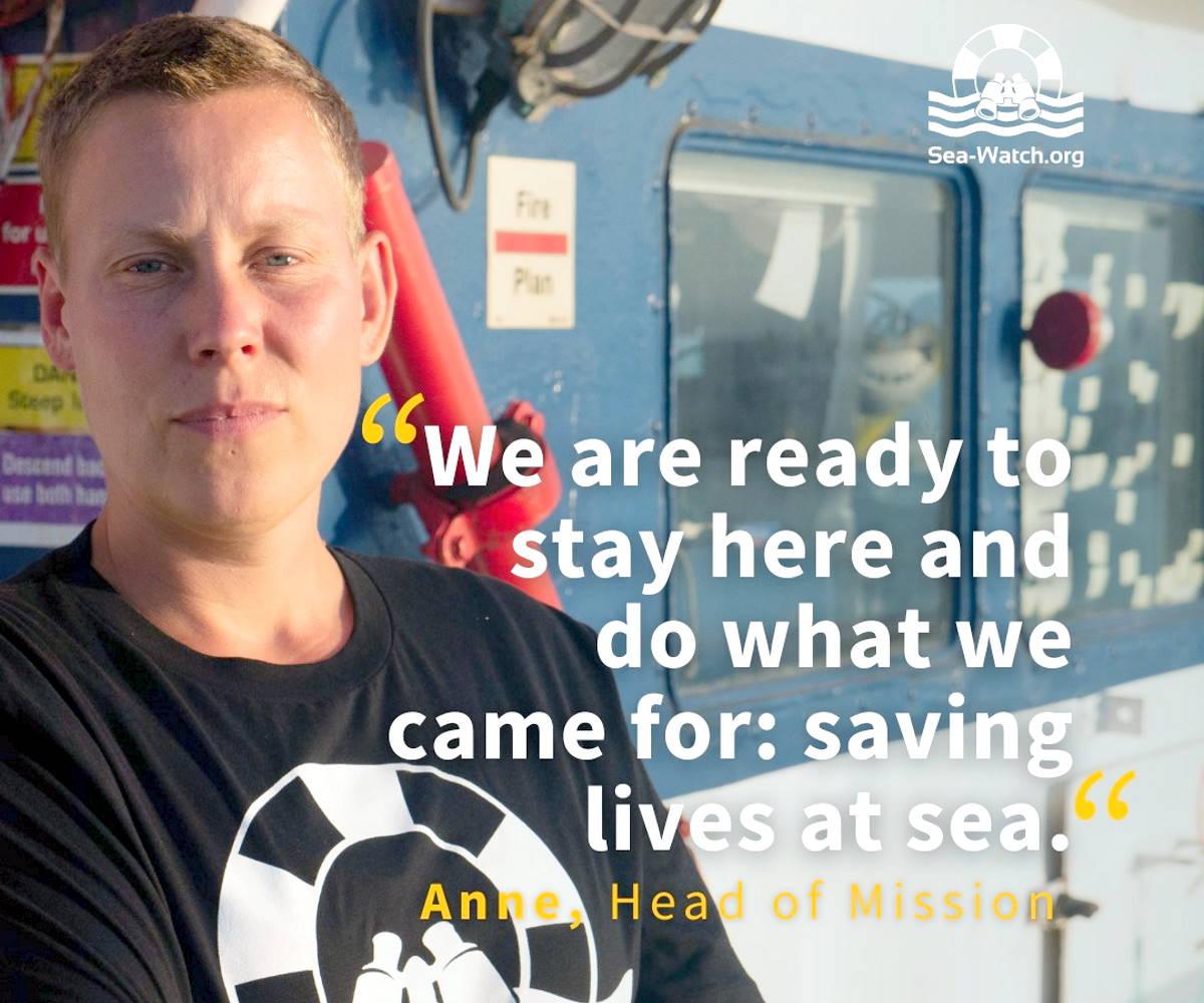 La Guardia Costiera libica ha minacciato di arrestare l'equipaggio di Sea-Watch 3 se continuerà ad operare nella SAR assegnata alla Libia