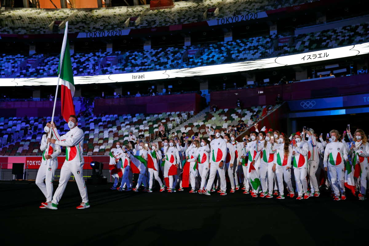 Cinque le medaglie conquistate dall'Italia nelle prime due giornate di Tokyo 2020