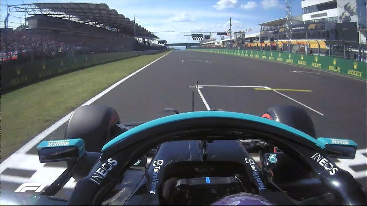 Formula 1, le due Mercedes in prima fila al via del GP d'Ungheria
