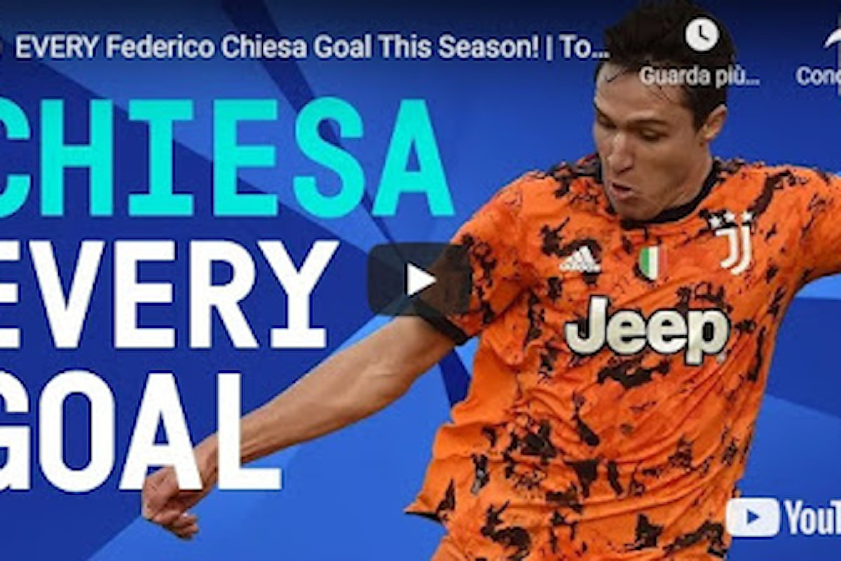 VIDEO - Tutti i gol di Federico Chiesa in questa stagione! | Serie A 2020/21