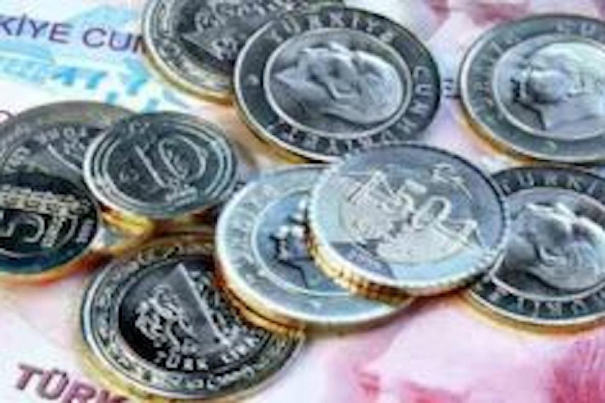 Crisi dei prezzi in Turchia, l'inflazione ha quasi raggiunto il tasso di interesse