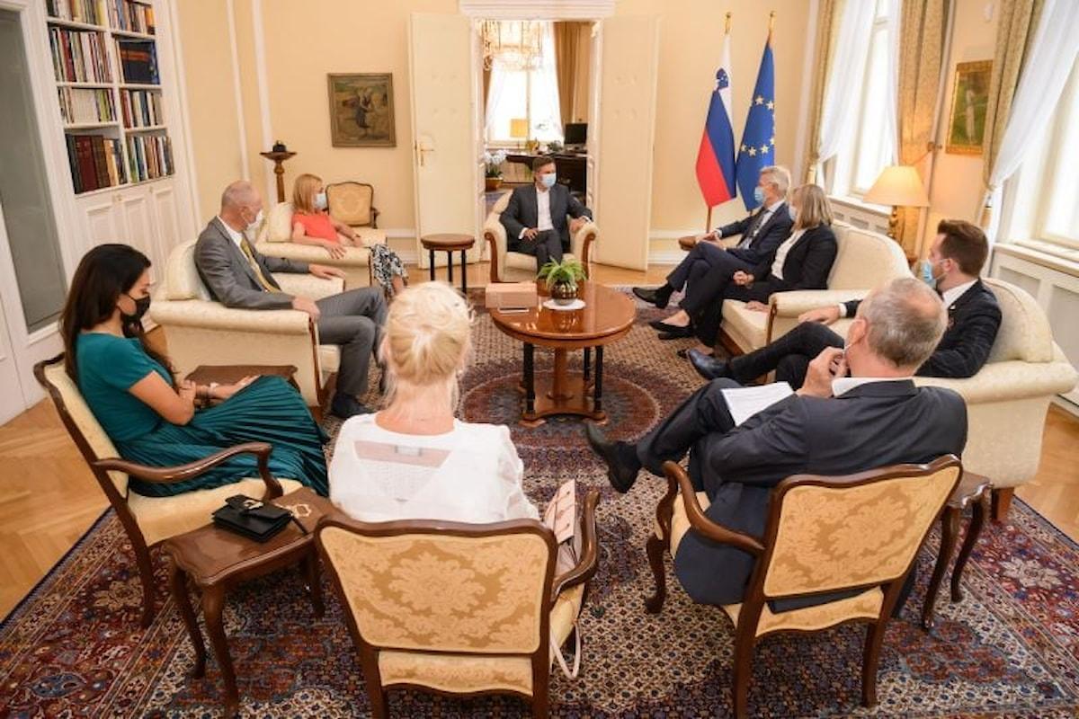 Fidev e la Slovenia, con il Presidente Borut Pahor, insieme contro la plastica