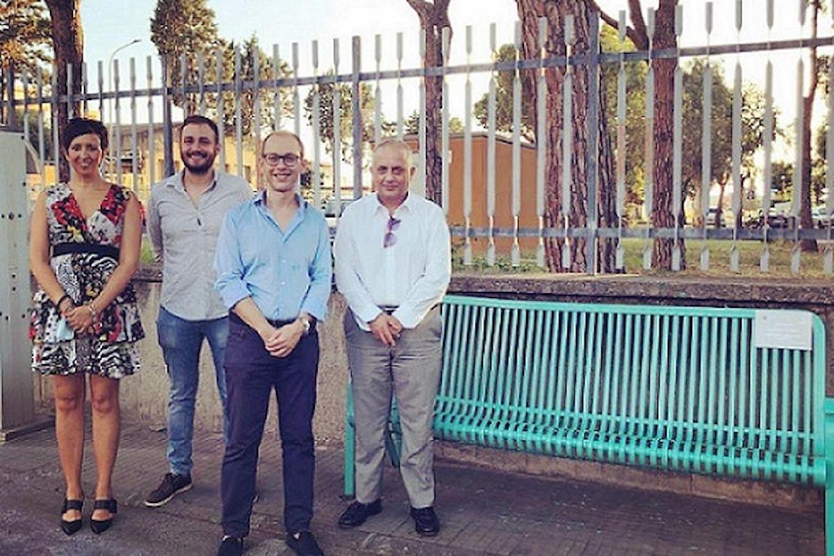 Milazzo (ME) - Inaugurata la panchina in memoria di Giovanni Salmeri