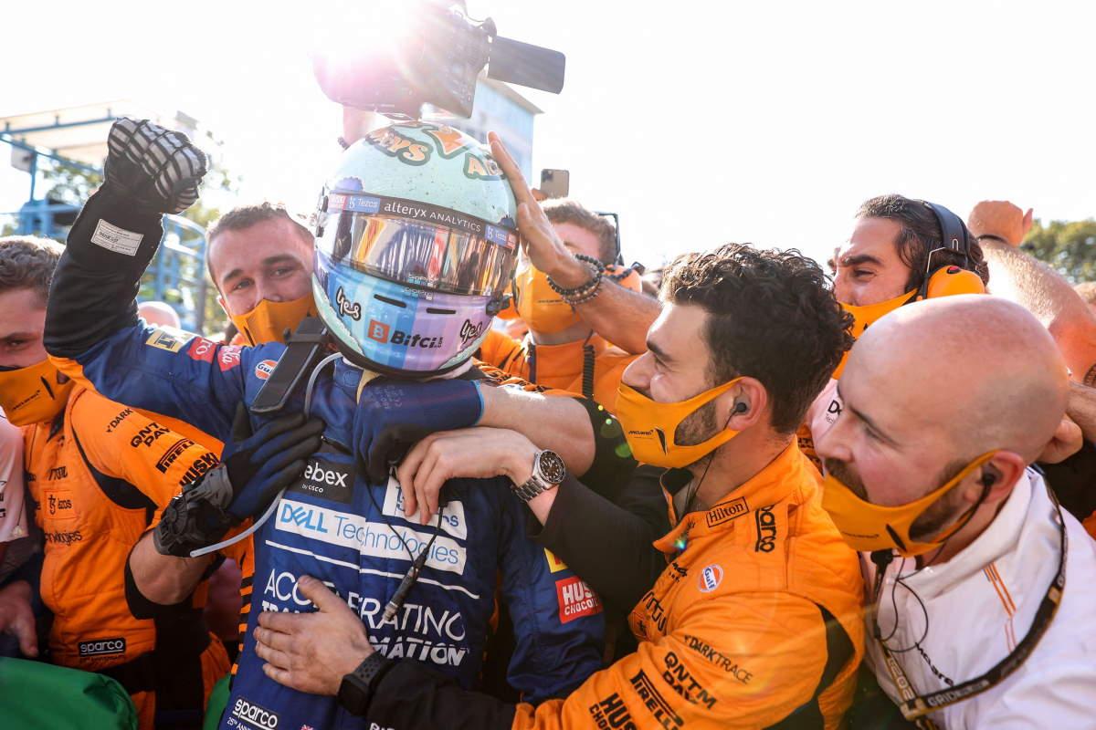 Formula1, doppietta McLaren a Monza con Ricciardo davanti a Norris