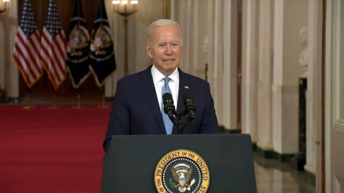 Non volevo continuare questa guerra per sempre ha detto Biden dopo il ritiro delle truppe dall'Afghanistan
