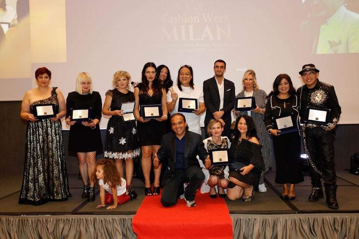 Emozioni ed applausi al Rosa Grand Star Hotel per il Rockstarr Fashion Show prodotto ed organizzato da Prasanna Weerasooriya alla Milano Fashion Week/settembre 2021