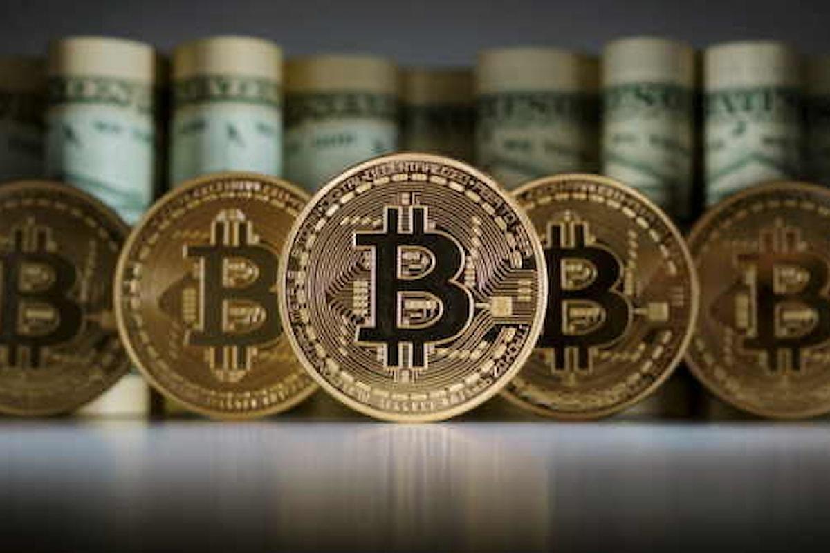Quotazione del Bitcoin ancora in salita, e adesso rivede la soglia dei 55mila
