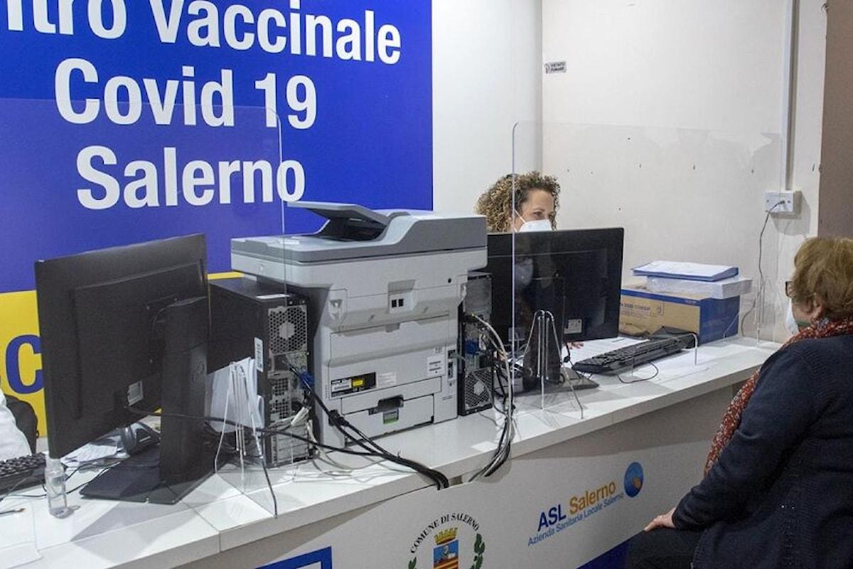 Calendario vaccinale Asl Salerno Salerno città: Dove e quando vaccinarsi tra l'11 e il 17 ottobre