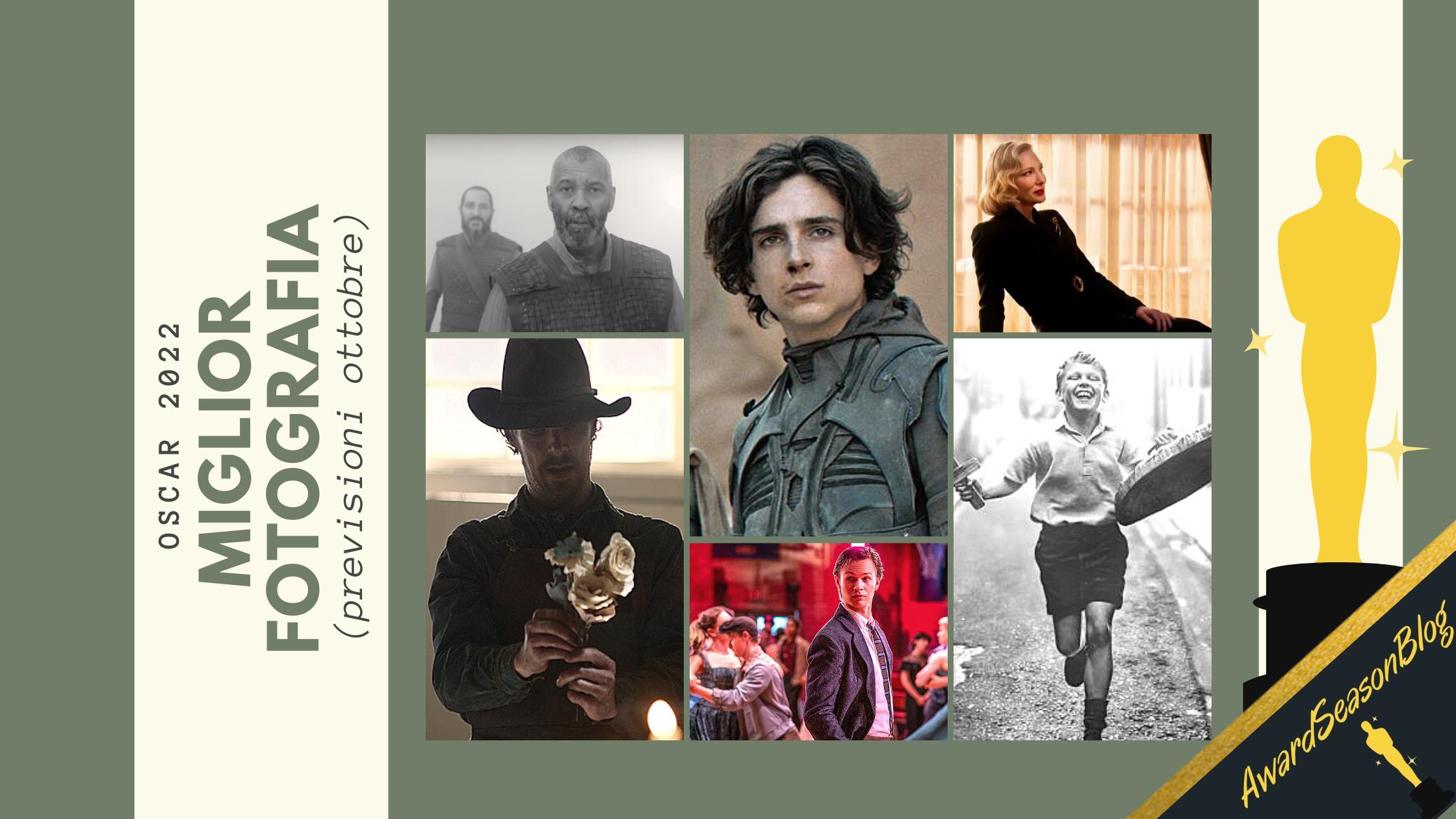 Oscar 2022: quali sono i migliori direttori della fotografia da tenere d'occhio? (previsioni ottobre)