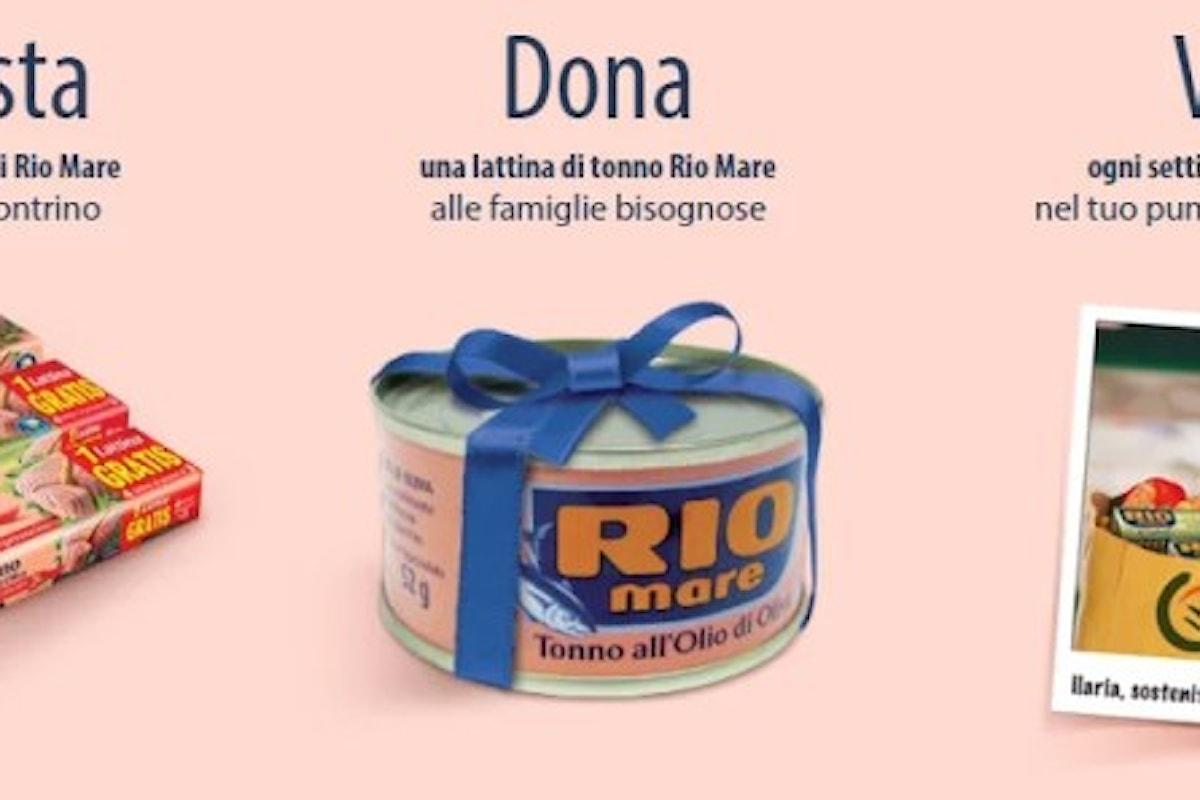 #UnTonnoPerTutti: tentare la fortuna donando ai meno fortunati