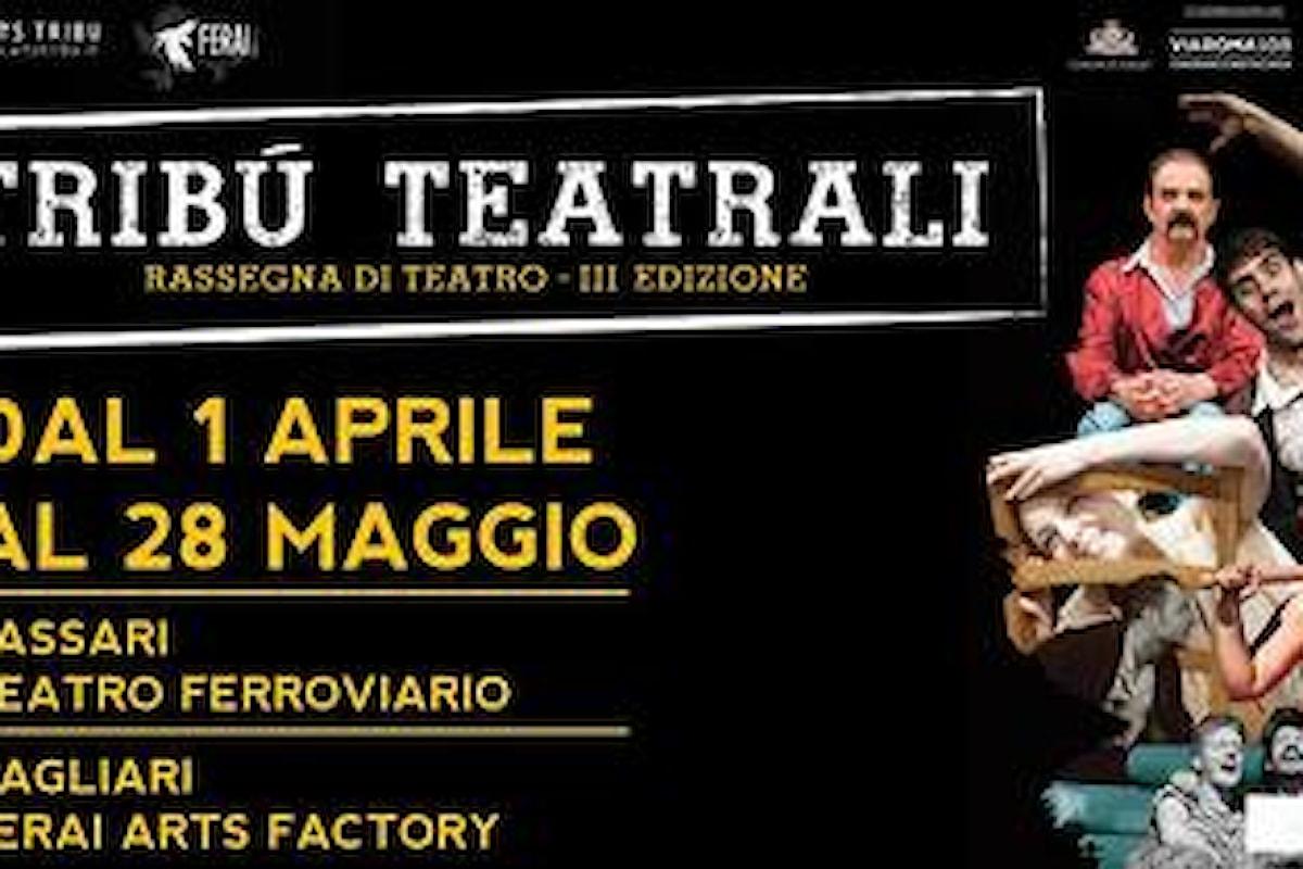 Tribù Teatrali 2017 - Rassegna di Teatro - Sassari & Cagliari