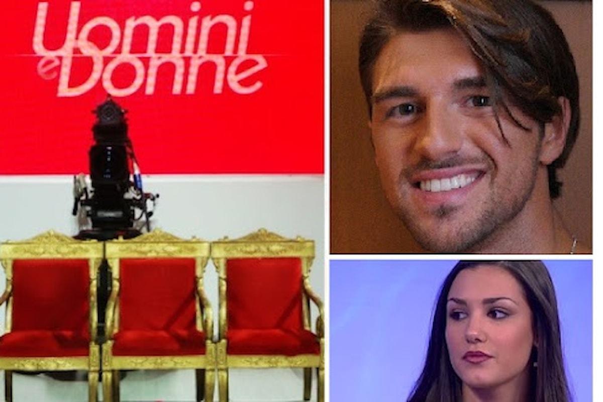 Uomini e Donne: Andrea Damante sul trono classico!