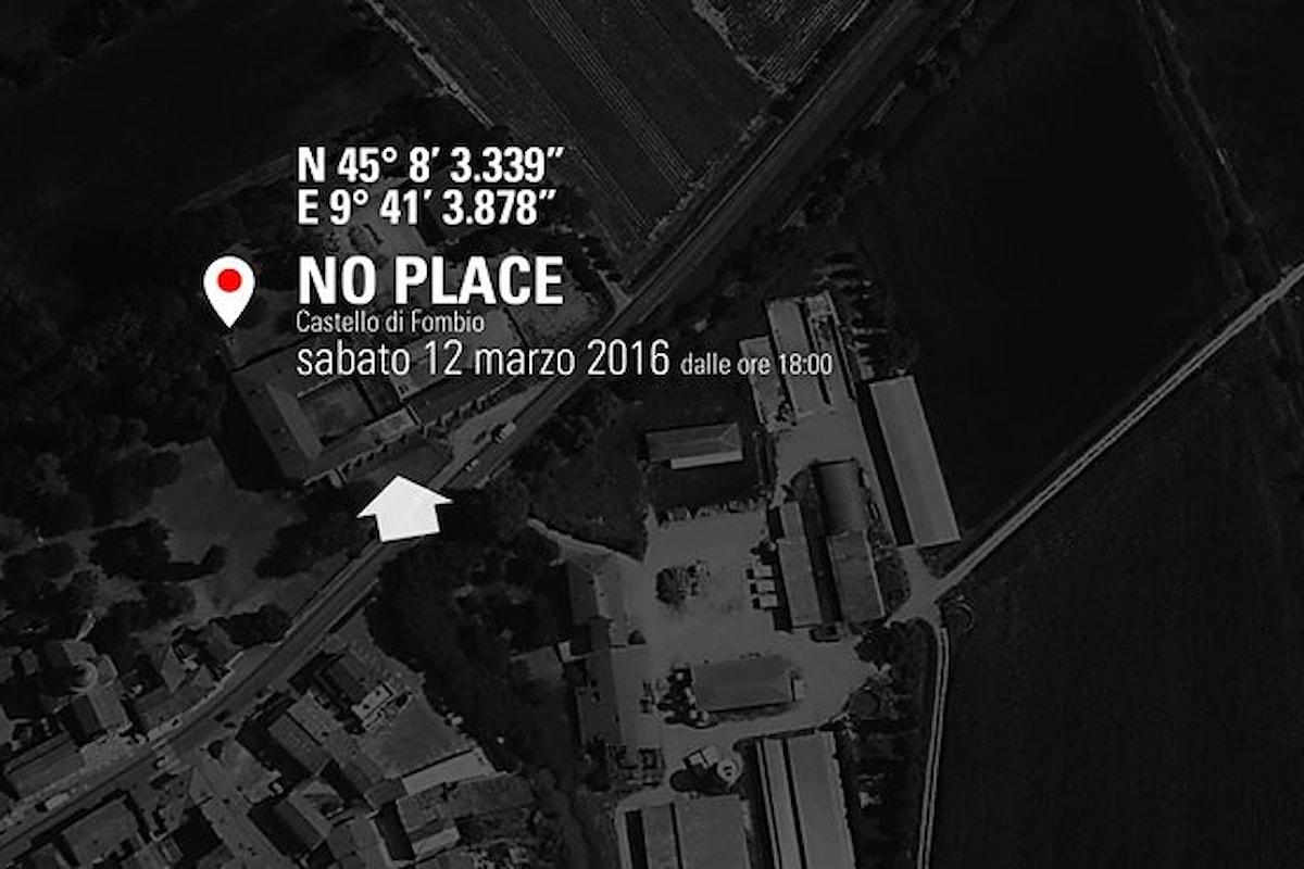 Arte in libertà: il prossimo weekend al Castello di Fombio per NO PLACE 2