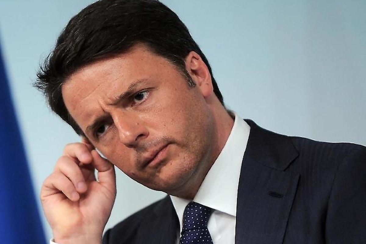 Matteo Renzi ed il Pd sempre più in difficoltà