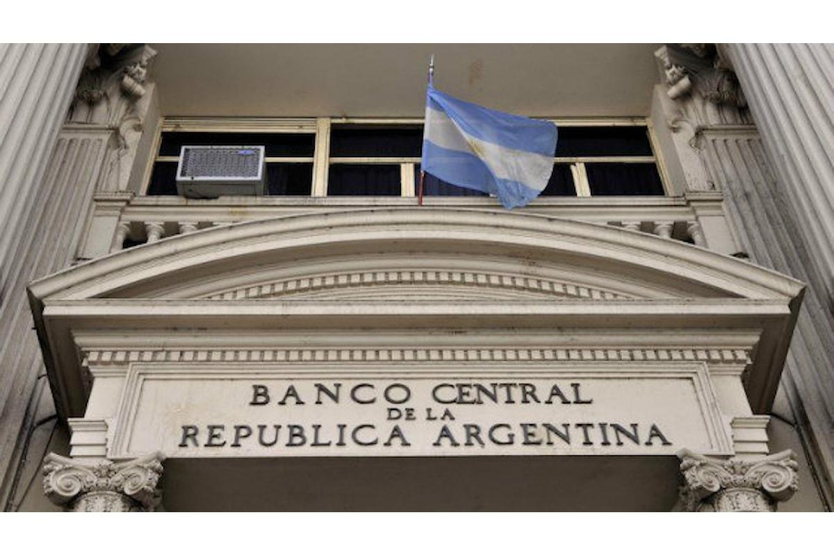 Caos Argentina, la BCRA vara un aumento choc del costo del denaro