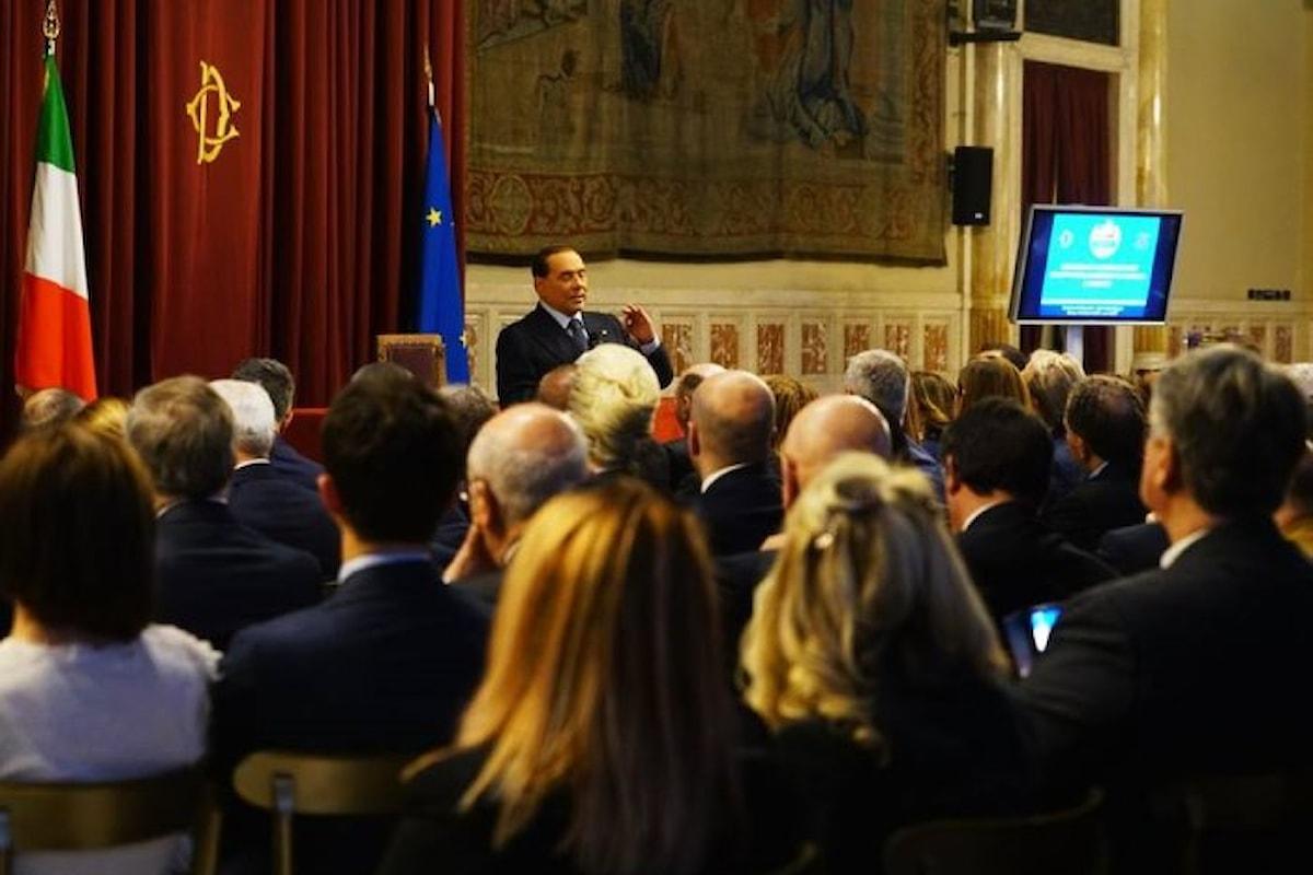 Berlusconi: mai un Governo con i 5 Stelle