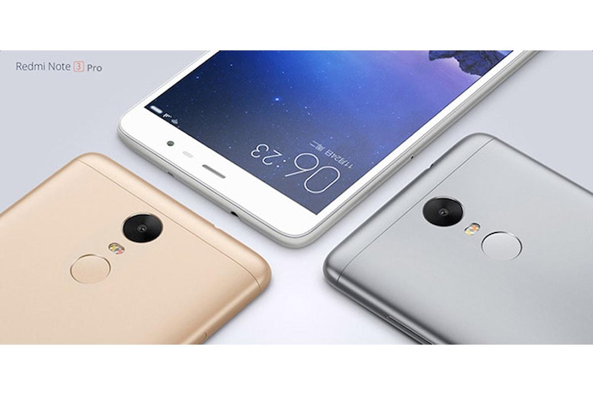 Xiaomi Redmi Note 3 Pro: potenza allo stato puro
