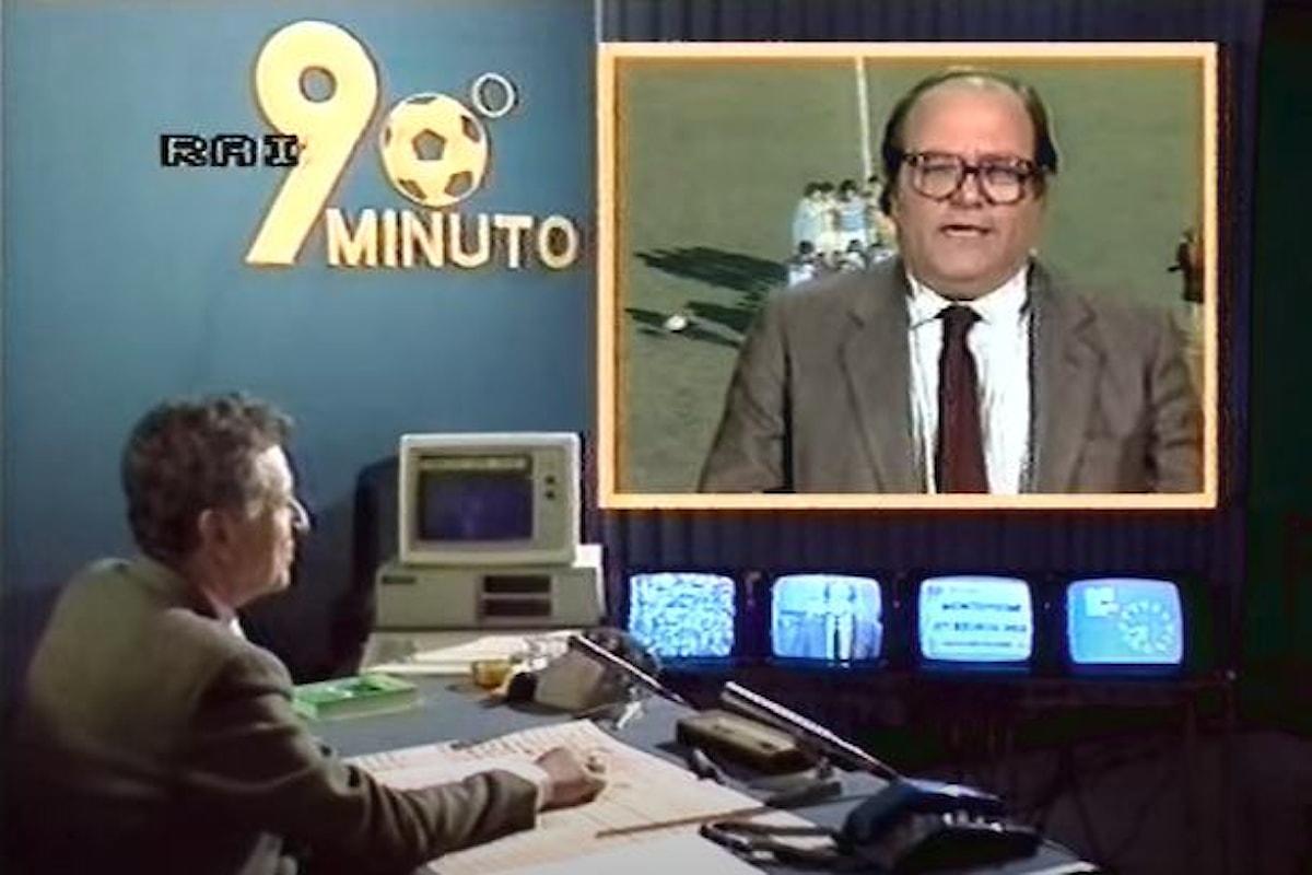 Si è spento Luigi Necco, storico volto di 90° minuto