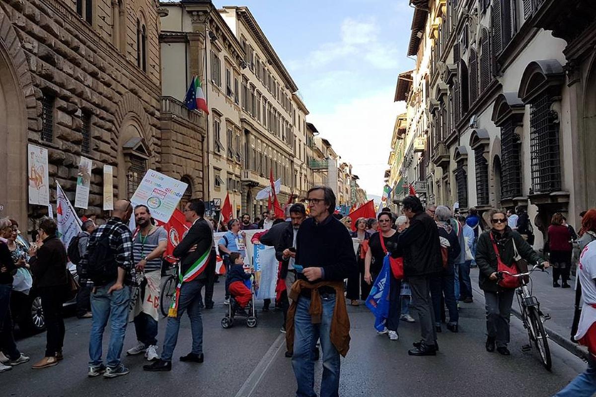 Firenze: Manifestazione per il diritto alla salute