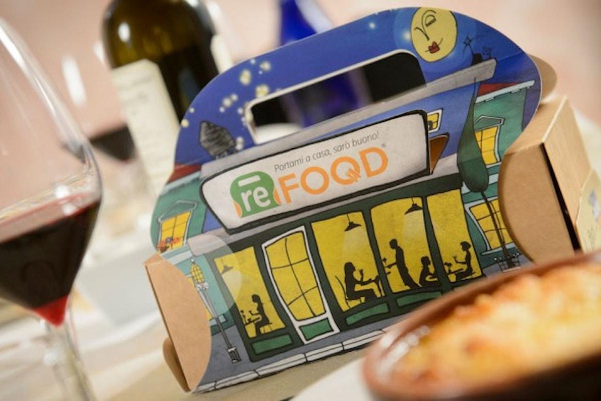 Doggy bag d'autore contro lo spreco di cibo