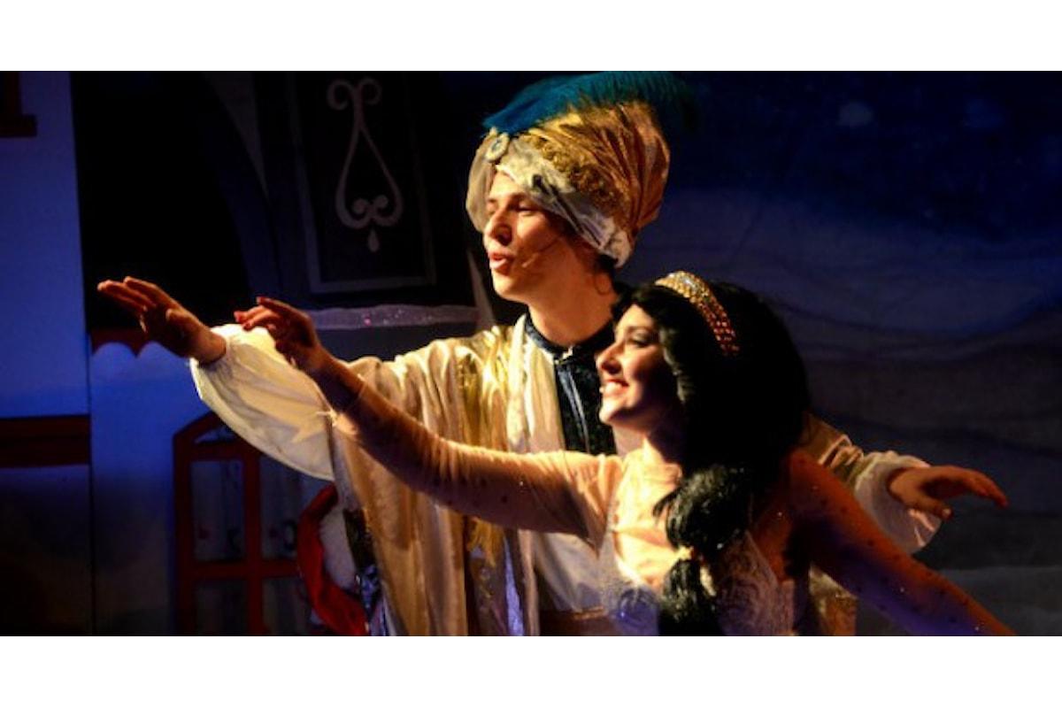 Manzoni family Aladin, Barbareschi saluta e Pintus... se fosse stato il cavallo!