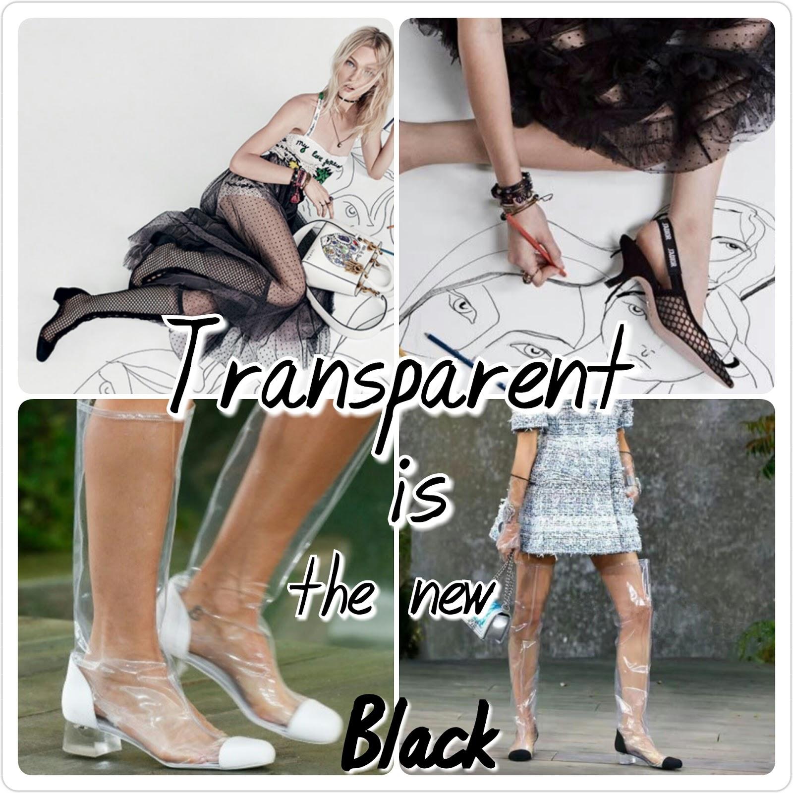 Il look più cool per la primavera? Tutto trasparente! Da Dior a Chanel ecco cosa propone la Moda...