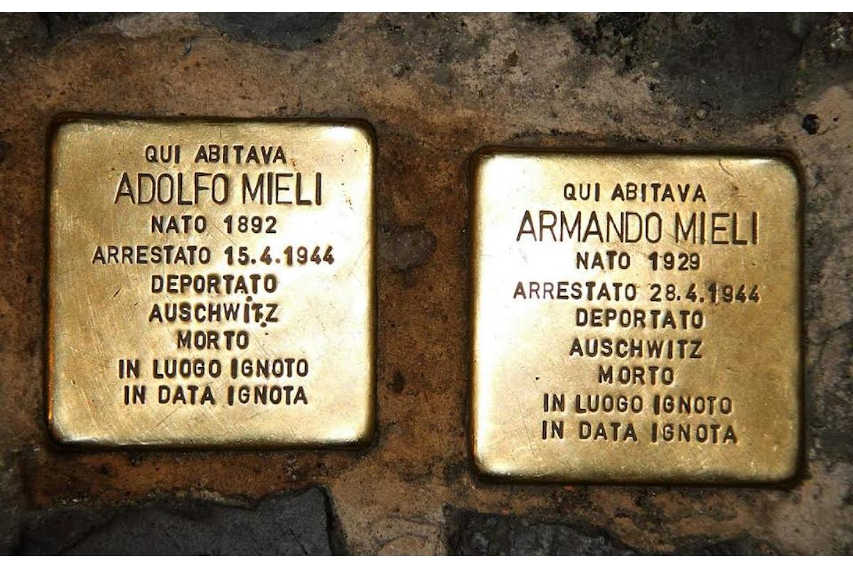 Memorie d'inciampo, per non dimenticare l'orrore dell'olocausto