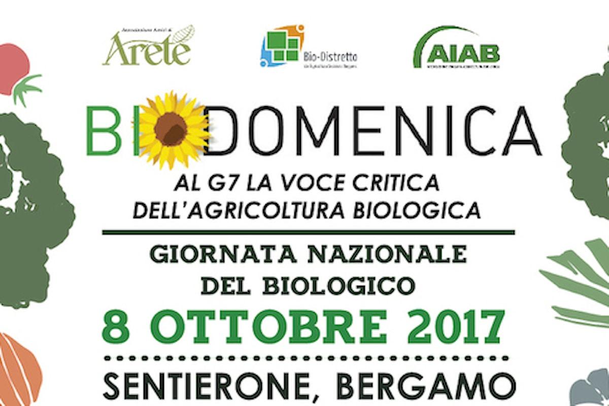 Biodomenica, a Bergamo la festa del biologico apre la settimana del G7