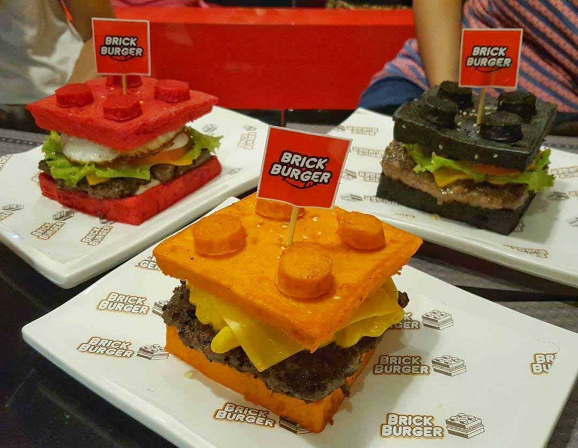 Apre Brick Burger, ristorante a tema Lego