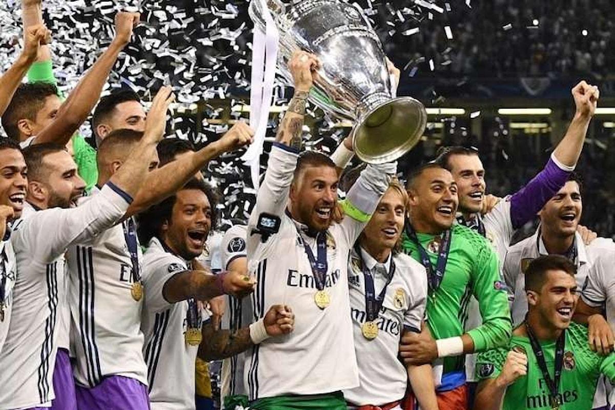 Il Real Madrid umilia la Juventus 4-1 e si aggiudica la Champions League per la seconda volta di fila