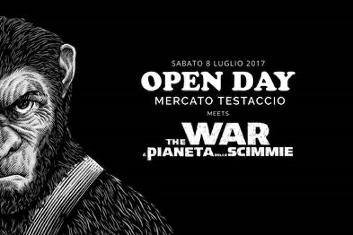 Roma, sabato 8 luglio al Testaccio Open Day dedicato al terzo capitolo di The War - Il Pianeta delle Scimmie