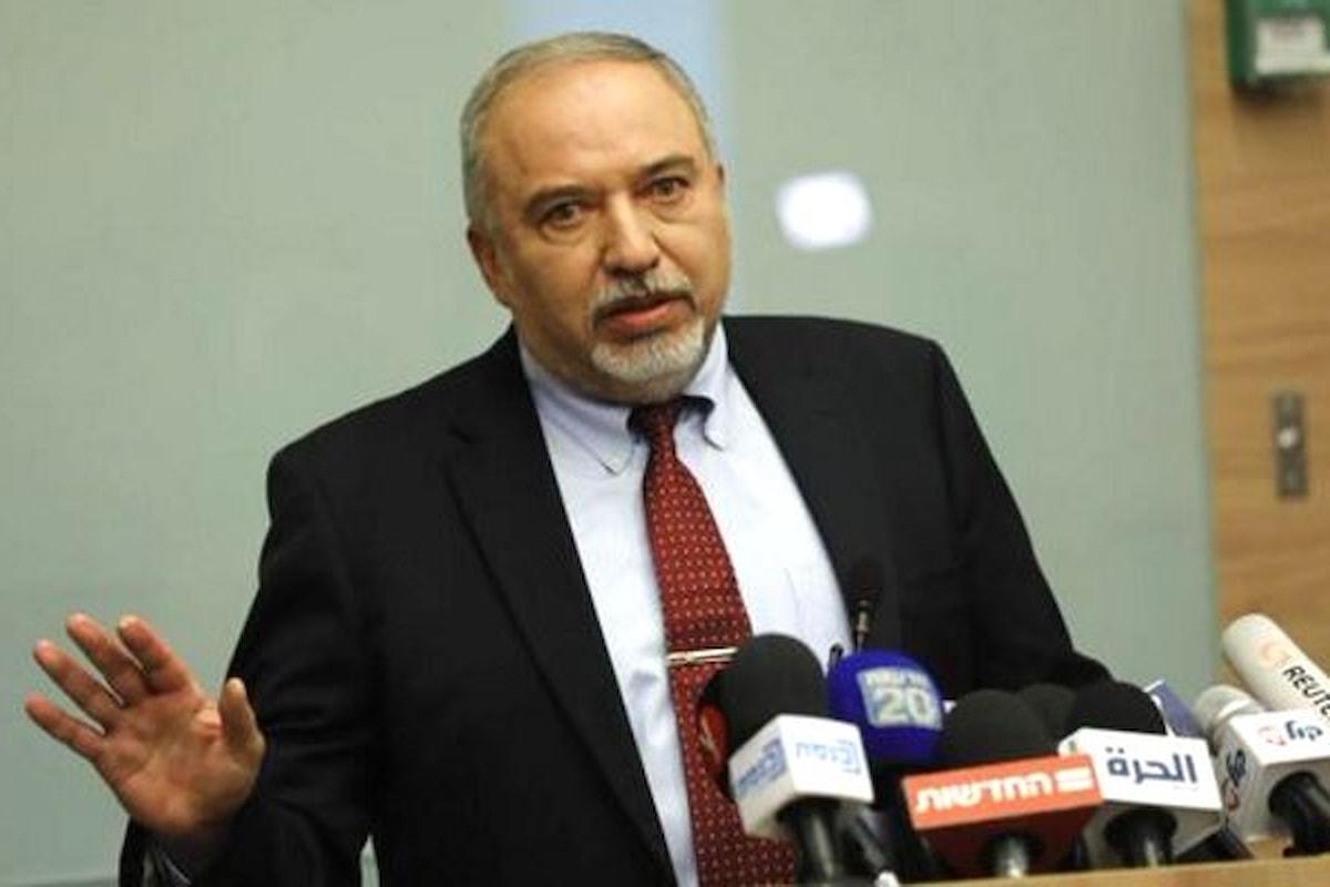 Israele, Lieberman si dimette e chiede elezioni anticipate: il governo Netanyahu a rischio