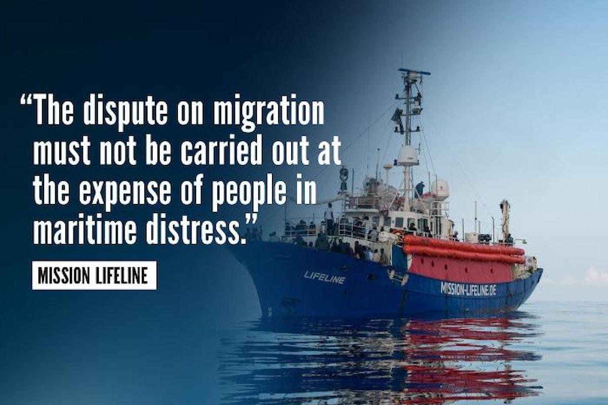 Il governo del cambiamento in guerra contro un'altra nave di una Ong, la Mission Lifeline