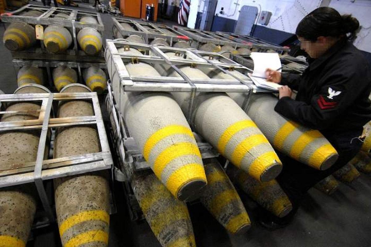 Tre Ong hanno presentato una denuncia penale per la vendita di armi all'Arabia Saudita