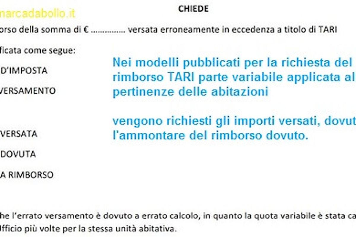 Notizia infondata: i comuni non chiedono marche da bollo per i rimborsi TARI