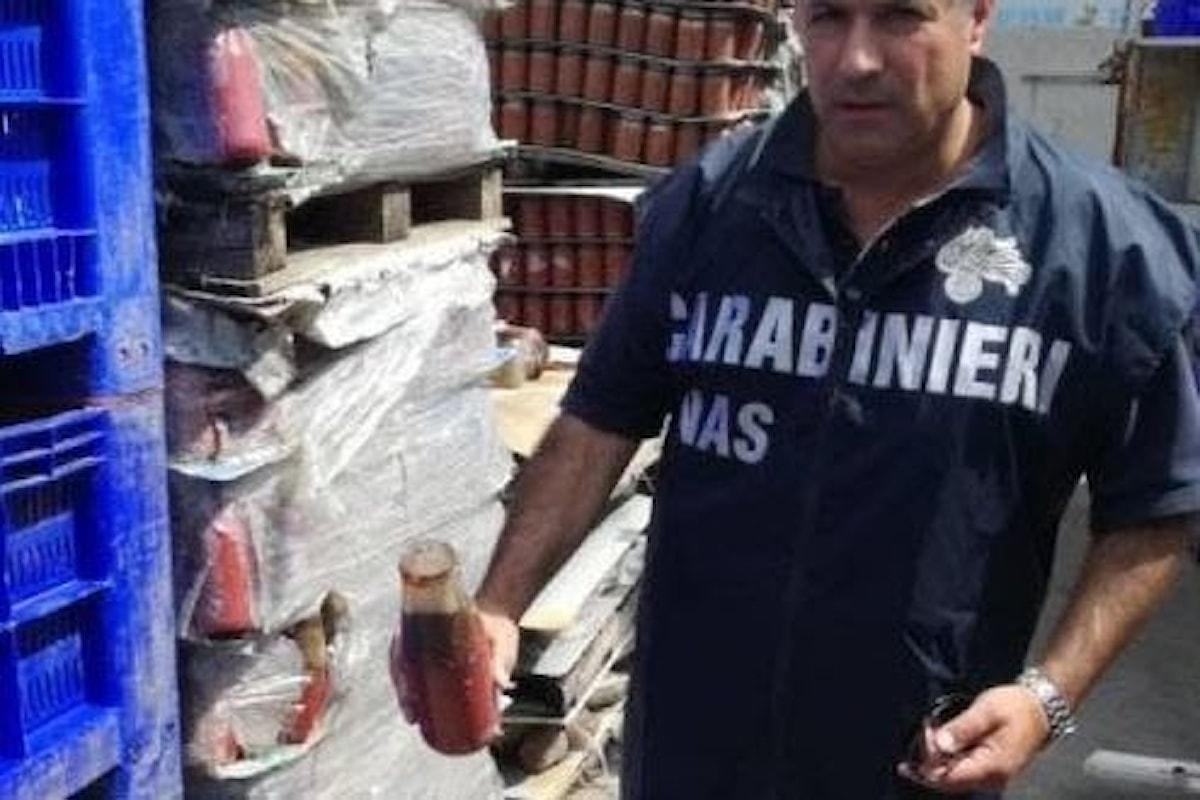 False etichette sui barattoli di pomodoro, sequestri nel salernitano