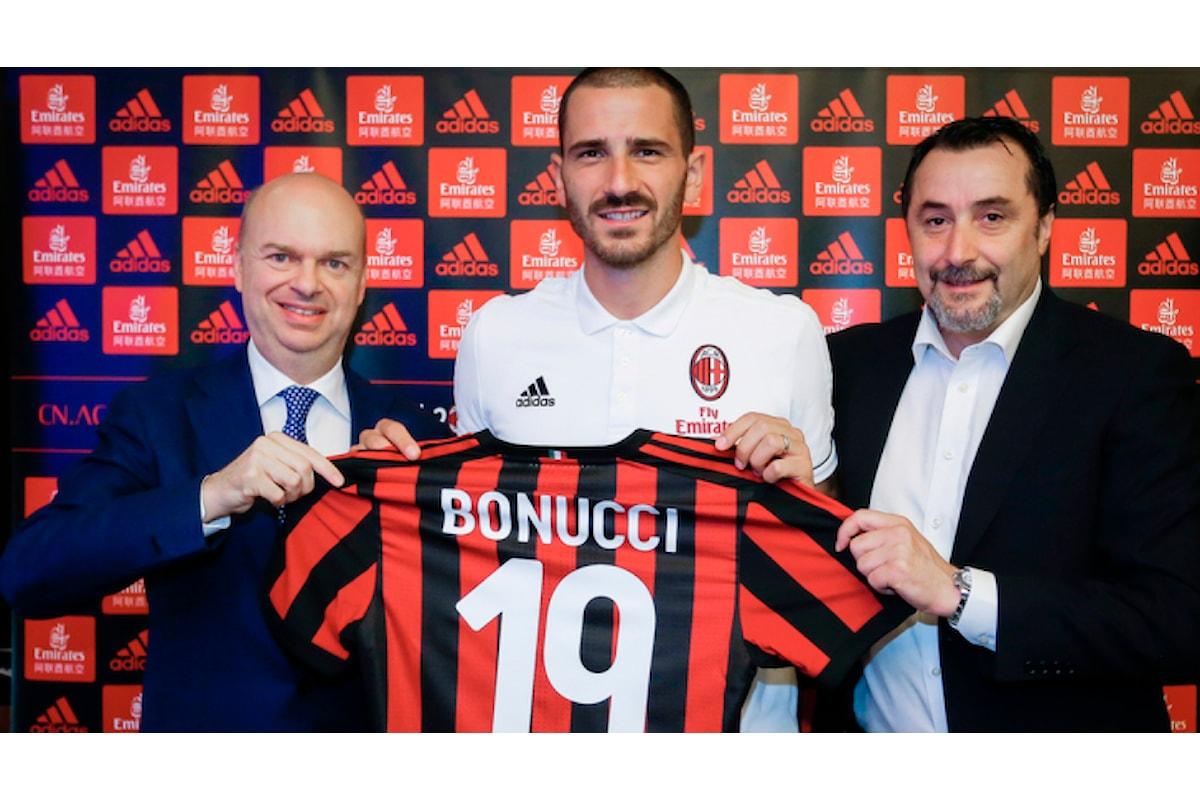 Bonucci:Addio alla Juve? Non dico in TV il perché