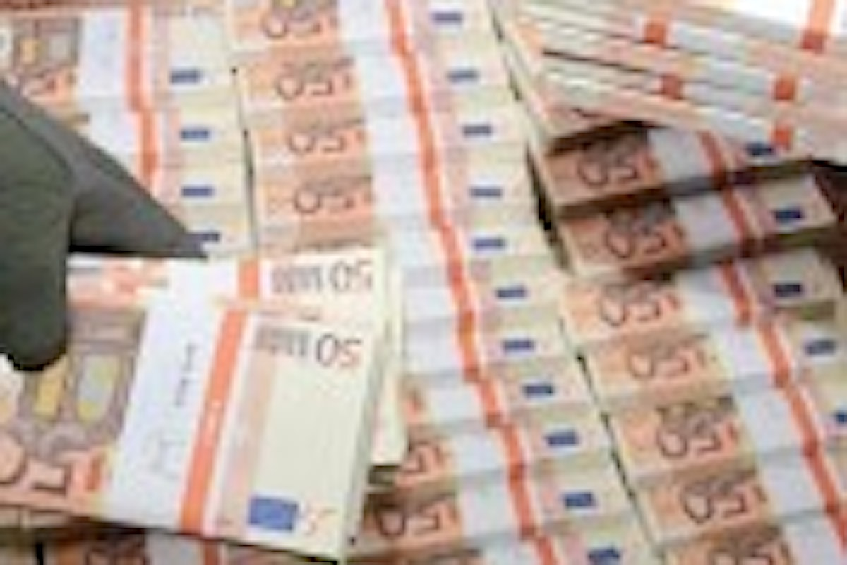 Soldi falsi, 41 milioni di euro sequestrati nel napoletano