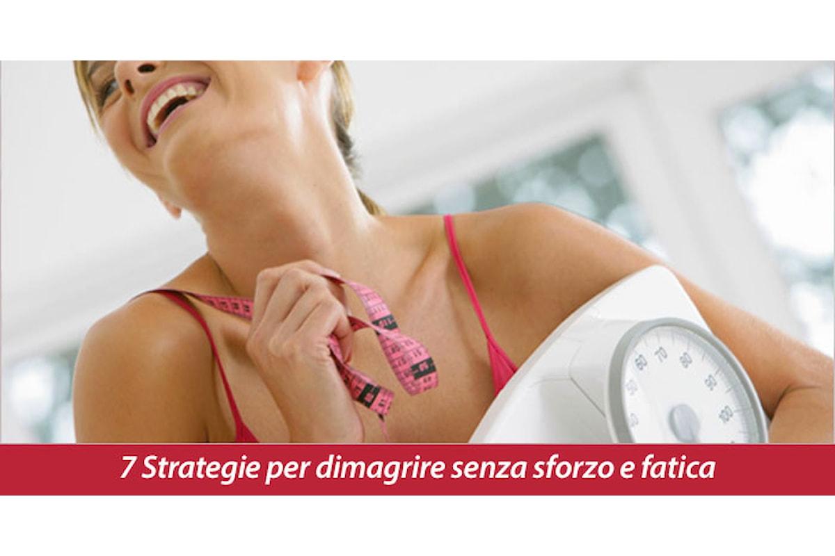7 Grandi strategie per iniziare a perdere peso senza sforzo