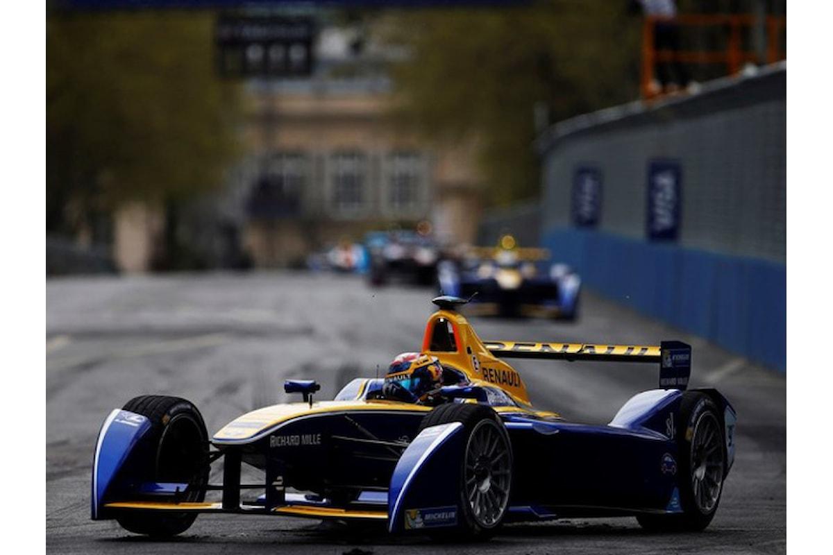 Buemi si aggiundica l'ePrix di Berlino di Formula E! Dietro Abt e Di Grassi.