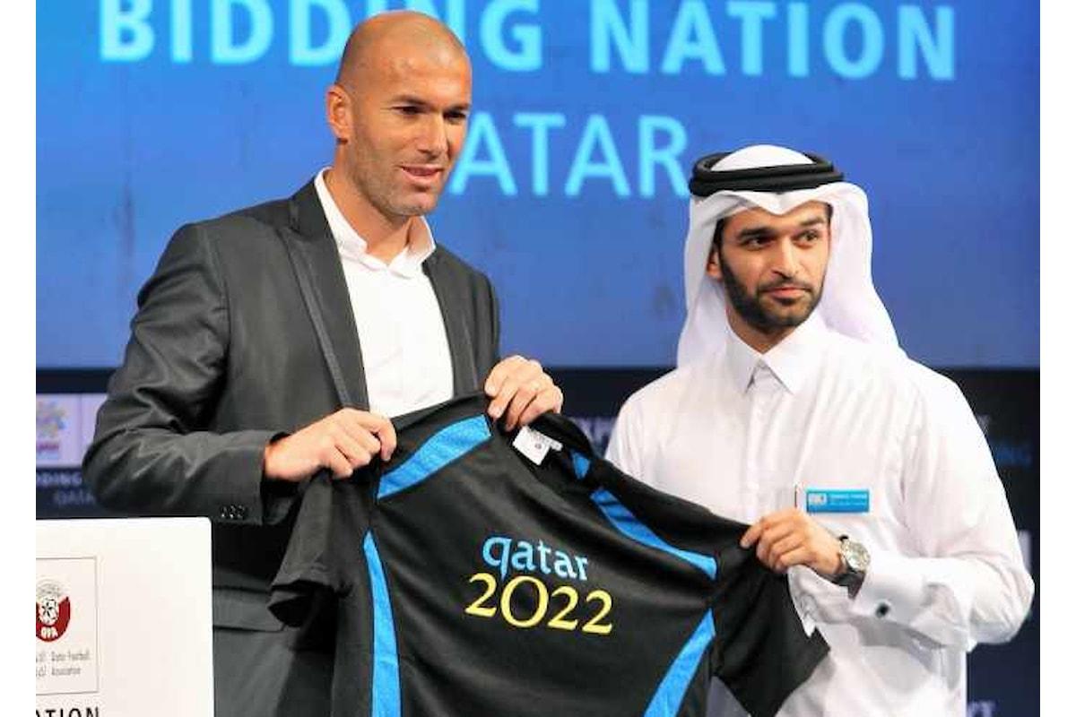 200 milioni a Zidane per guidare la nazionale del Qatar fino ai Mondiali del 2022