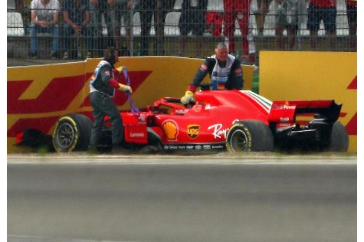 Formula 1, Vettel sbaglia e Hamilton trionfa nel Gran Premio di Germania