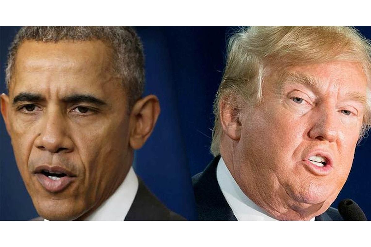 Obama contro Trump. Piccole vendette o precisa strategia?