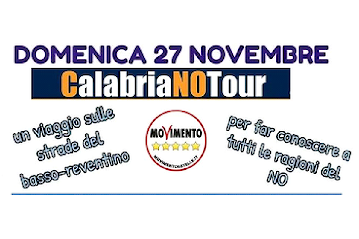 Domenica 27 Novembre 2016 #CalabriaNOTour,
