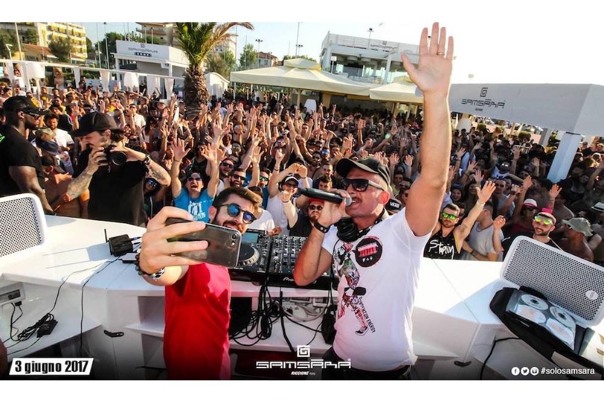 Samsara Beach news: a Riccione beach party nel weekend & Molo Street Parade, a Gallipoli beach party ogni giorno