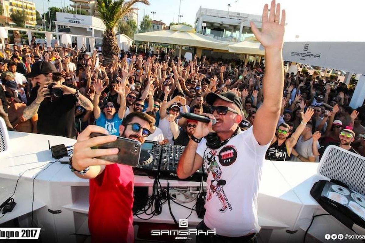 Samsara Beach news: a Riccione beach party nel weekend & Molo Street Parade, a Gallipoli beach party ogni giorno