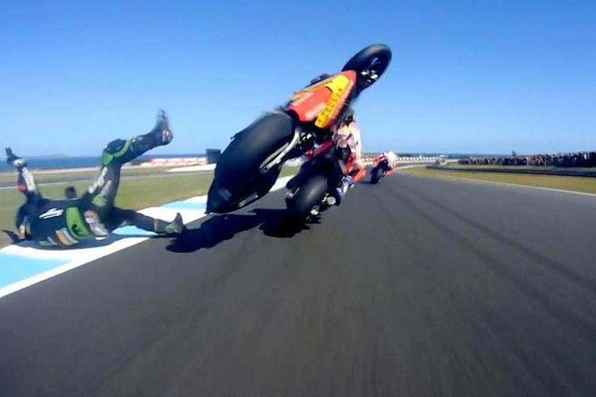 MotoGP 2018, in Australia è Vinales primo sul podio di Phillip Island. Cade Marquez